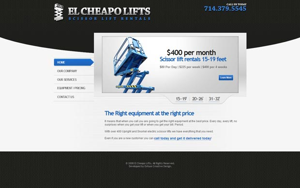El Cheapo Lifts